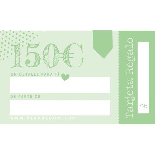 e-Tarjeta regalo 150€