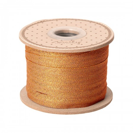 Ribbon 25m - Ocher/Gold