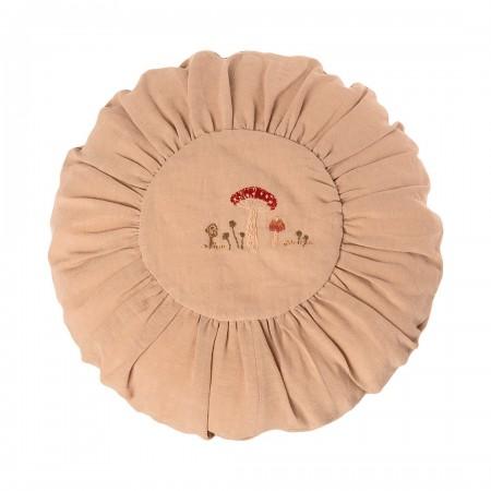 Round Cushion 40cm - Sand Mushrooms