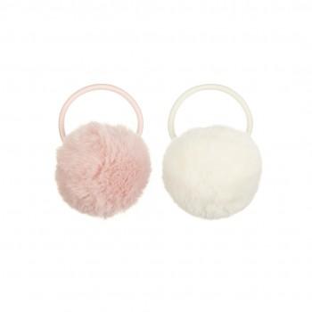 Furry Pom Pom Ponies Blush (2u.)