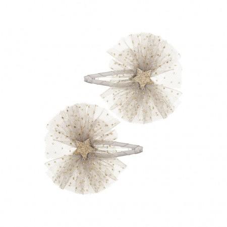 Ballet Star Clips Silver (2u.)