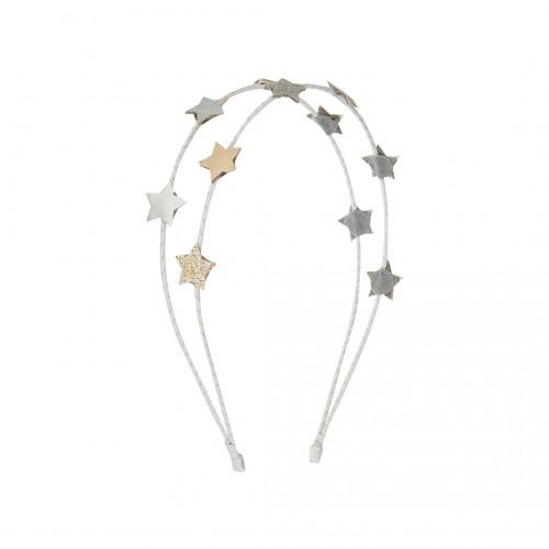 Diadema Estrellas brillo Doble