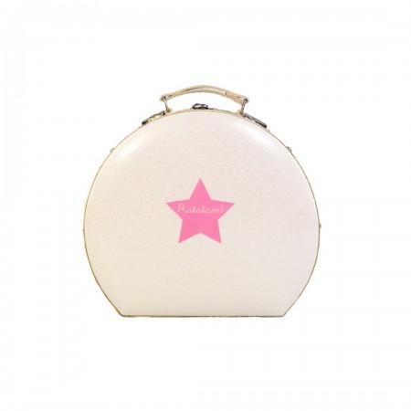 Glitter Case - White