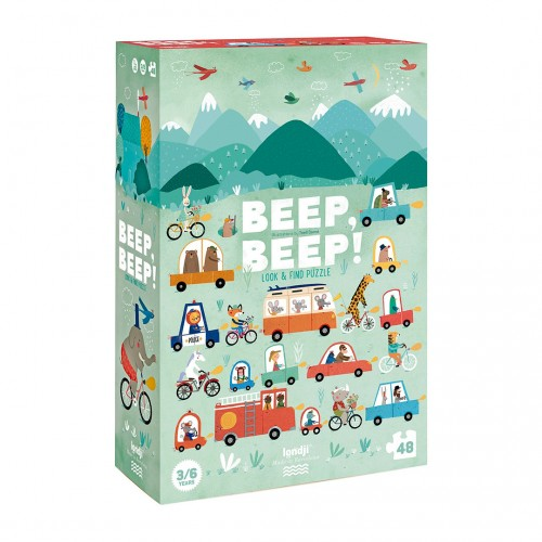 BEEP BEEP! Puzzle - 48 pieces