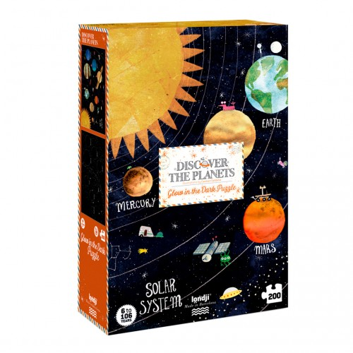 Discover the Planets Puzzle - 200pieces