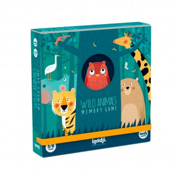 Wild Animals Memo - Memory game