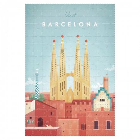 Visit Barcelona Puzzle - 200pcs