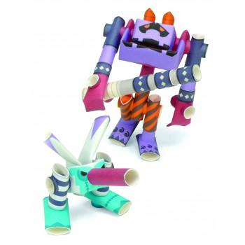 Robot de papel - Diablo