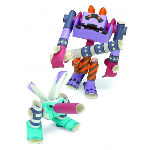 Robot de papel - Samurai