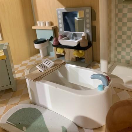 Casa de Muñecas - Muebles Baño