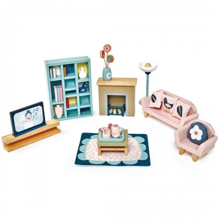 Dolls House - Sitting Room Furniture