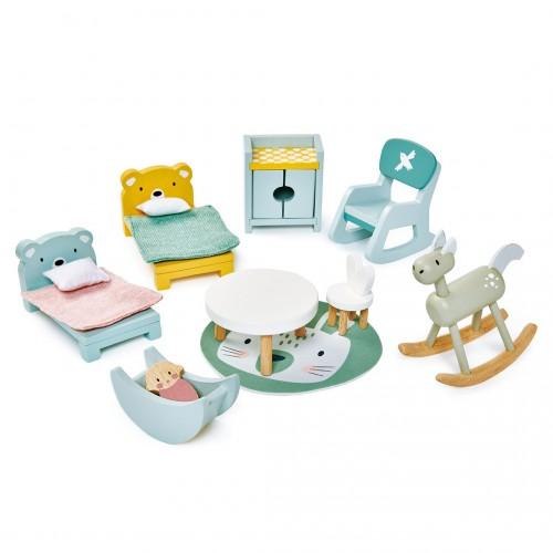 Casa de Muñecas - Muebles habitación niños