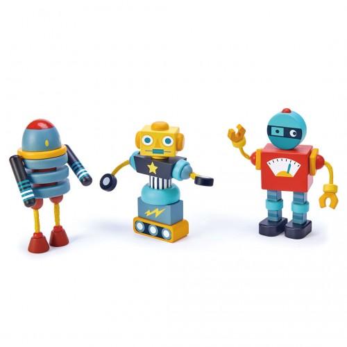Robots. Juego de construcción.