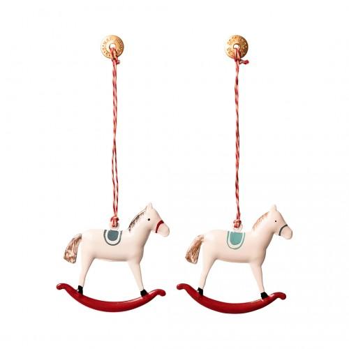 Metal  Ornament Rocking Horse
