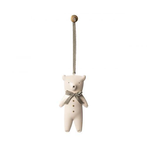 Osito teddy decoración de metal