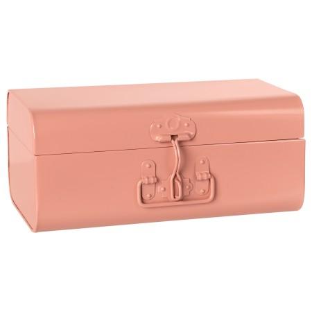 Maleta almacenaje Metálica rosa