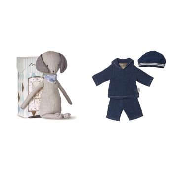 Peluche Best Friends + Ropa - Pack 4