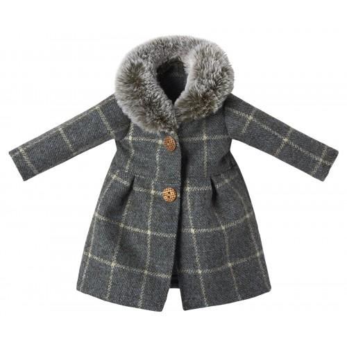 Abrigo de lana, peluche Best Friends.