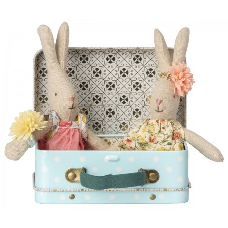 Micro Rabbit w. 2 sets ot clothes