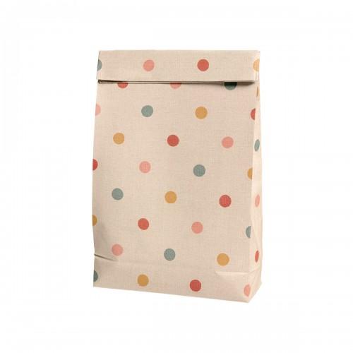 Gift Bag Multi Dots - Big
