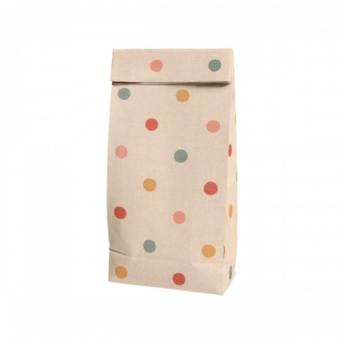 Gift Bag Multi Dots - Small