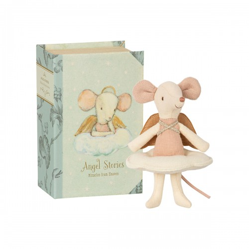 Angel Stories mouse in book - Big Sister