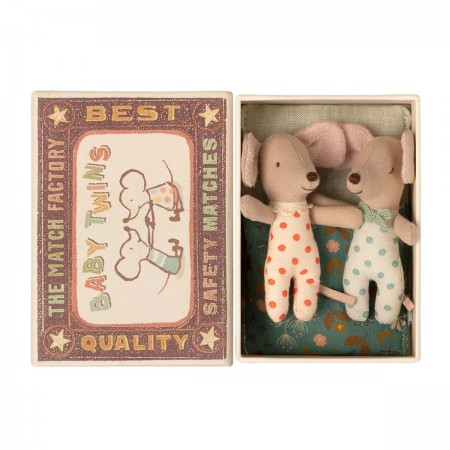 Mice Twins in Matchbox - Baby