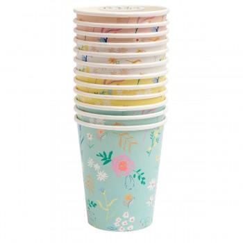Wildflower Pastel Cups - 12u.