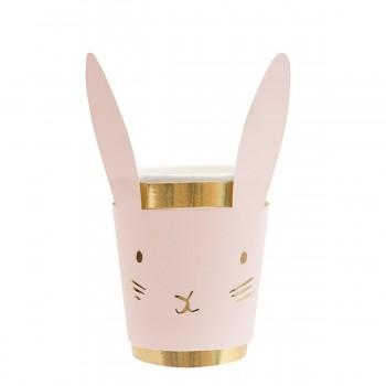 Bunny Pastel Cups - 8u.