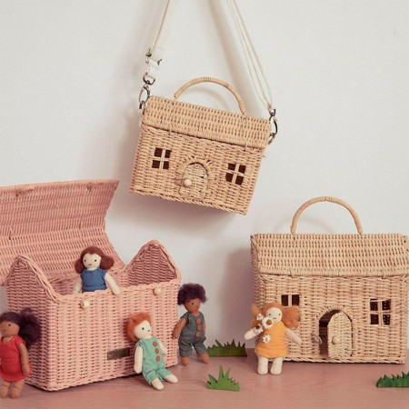 Rattan House Bag - Natural