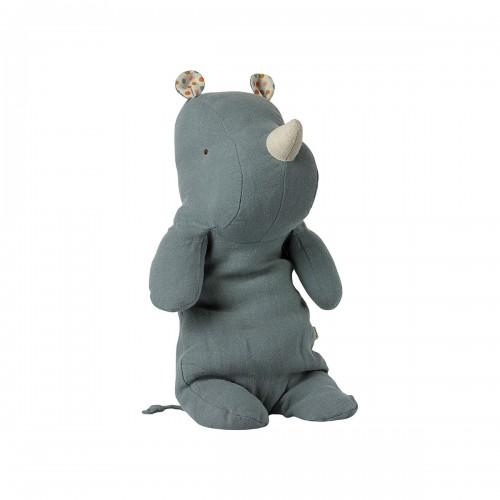 Safari Friends Hippo Dusty Blue - Medium