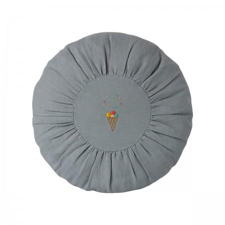 Cushion Round - Blue