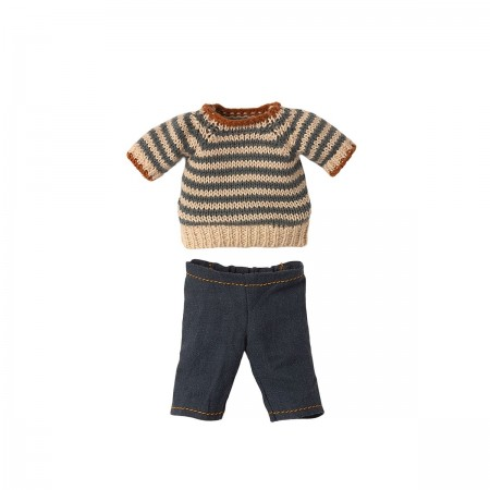Blouse and Pants - Teddy Dad