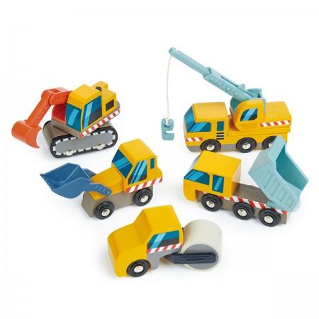 Set Vehículos de Construcción