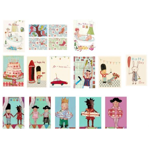 Pack 5 postales (PO33)
