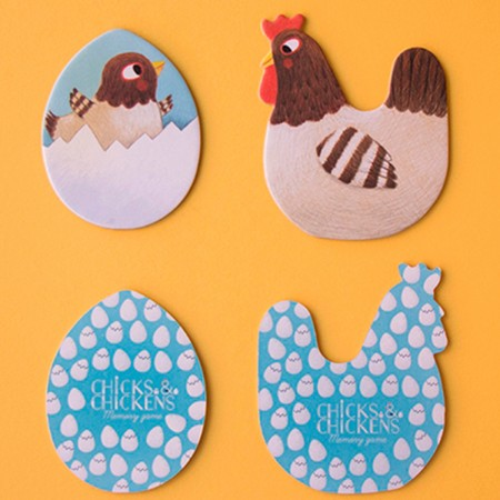 Memo Chicks and Chickens