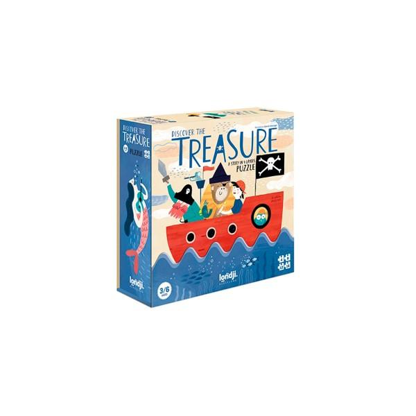 Puzzle Descubre el tesoro