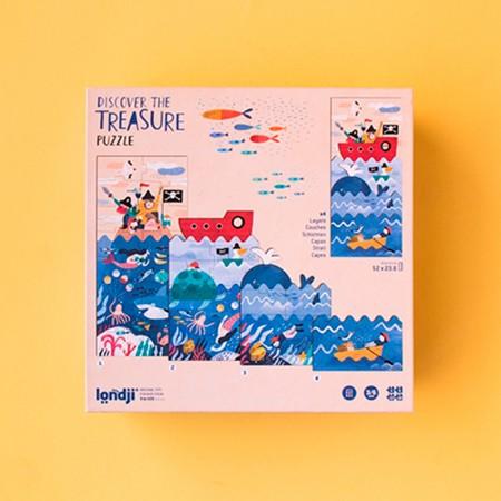 Discover de Treasure Puzzle