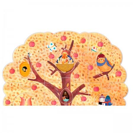 Puzzle Mi pequeño manzano