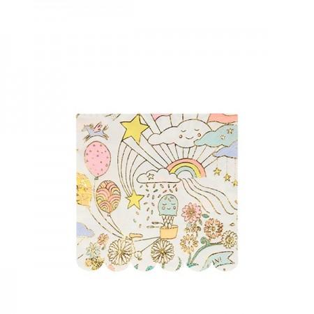 Servilletas Happy Doodle (16u)