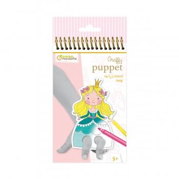Princesas - Kit Marionetas