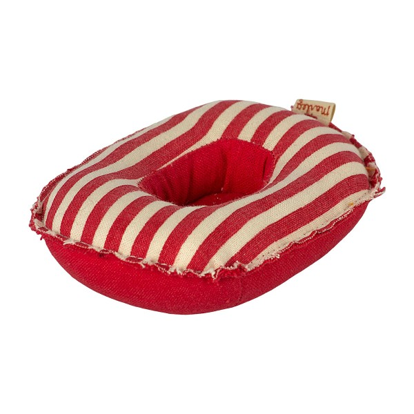 Small Mouse Rubber Boat - Red Stripe