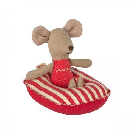 Bote para ratón -  Rayas Rojas
