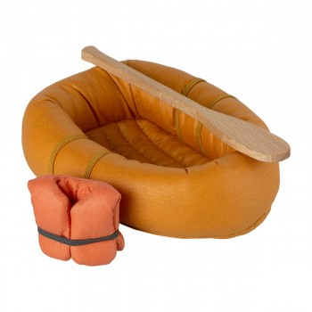 Mouse Rubber Boat - Dusty Yellow