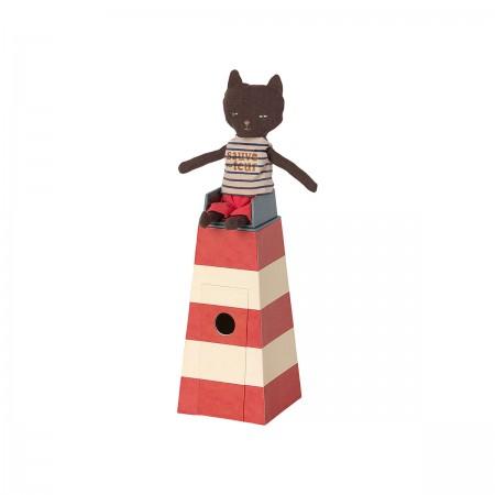 Torre con Gato Socorrista