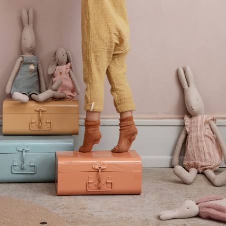 Storage Suitcase  - Ocher Small
