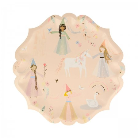Princess Large Plates - 8u.