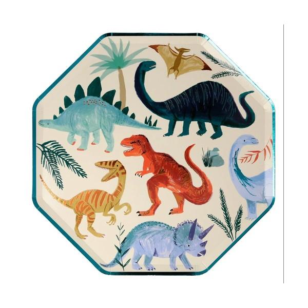 Platos Dinosaurios - 8u.