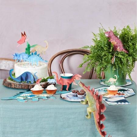 Dinosaur Kingdom Cake Toppers - 6u.