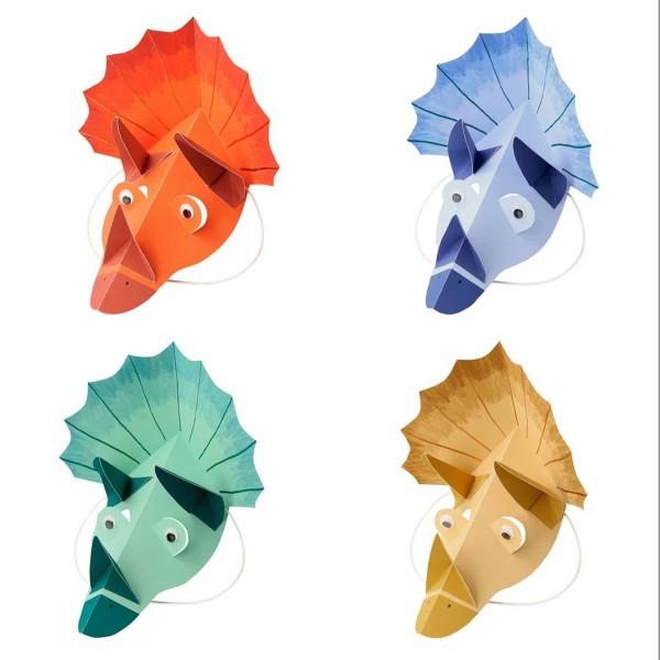 Dinosaur Kingdom Party Hats - 8u.